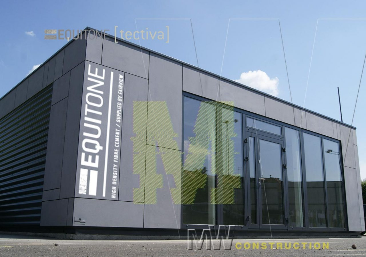 Modern Pavilion Office - MW Construction