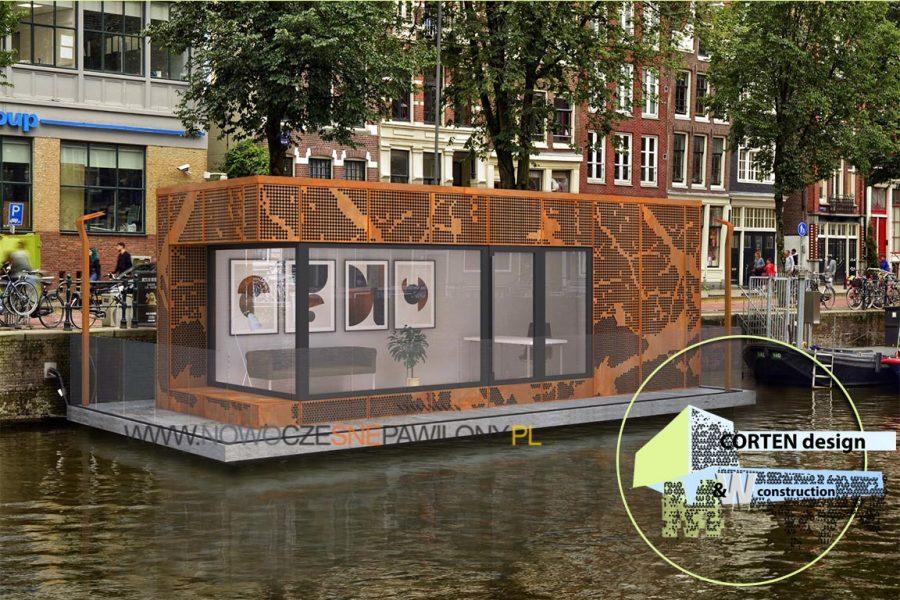 houseboat corten