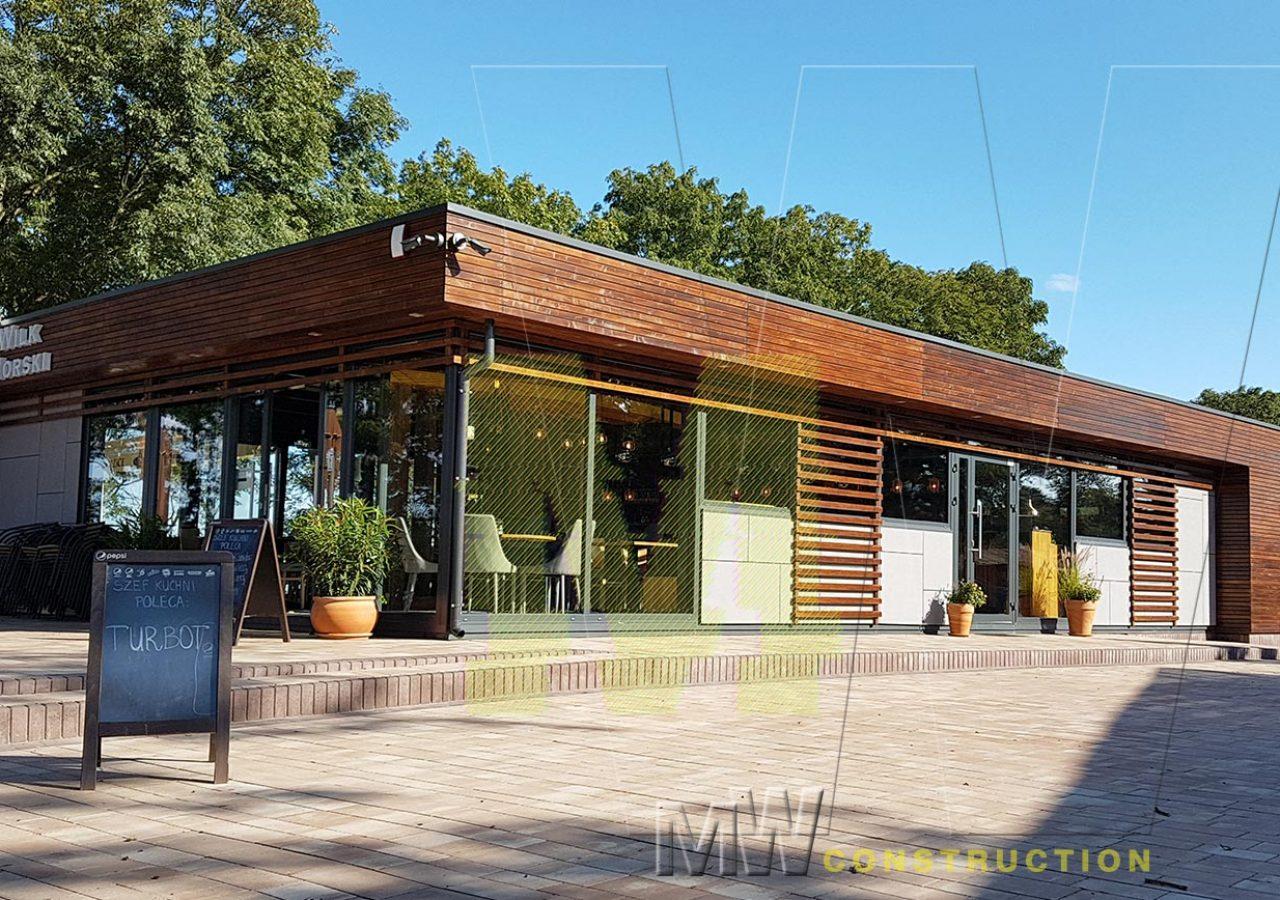 modern restaurant price - MW Construction