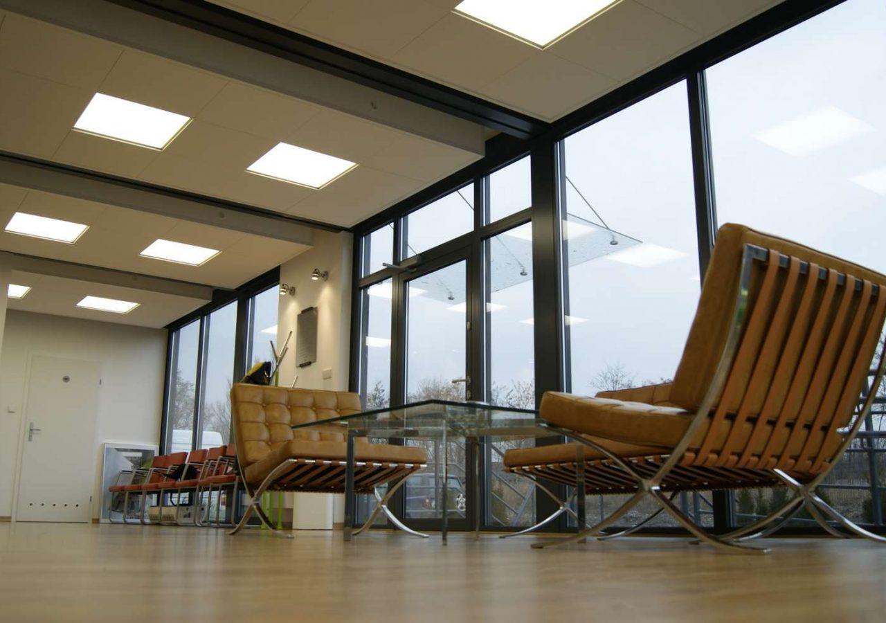 modular internal office- MW Construction