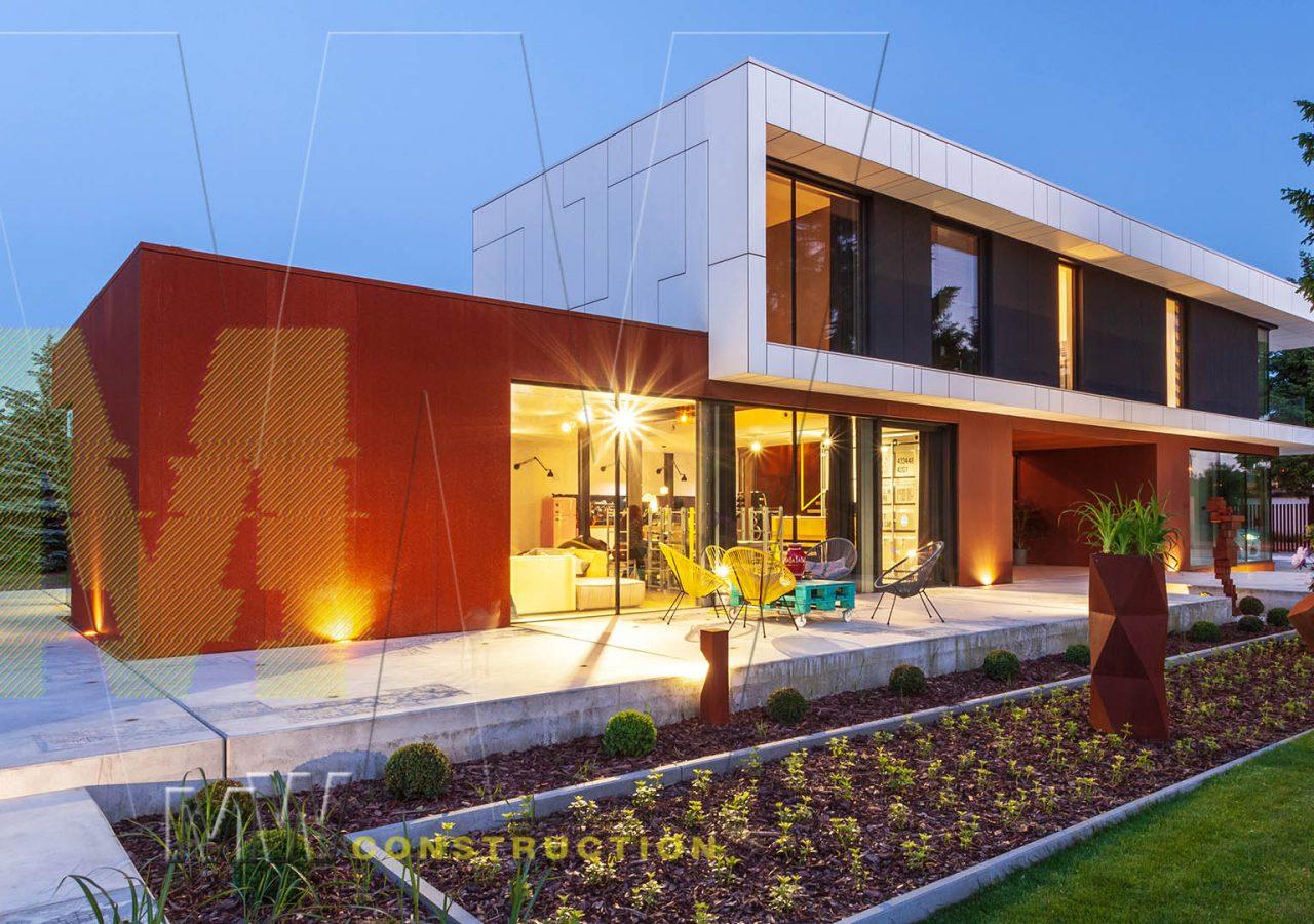 luxury modern house - MW construction