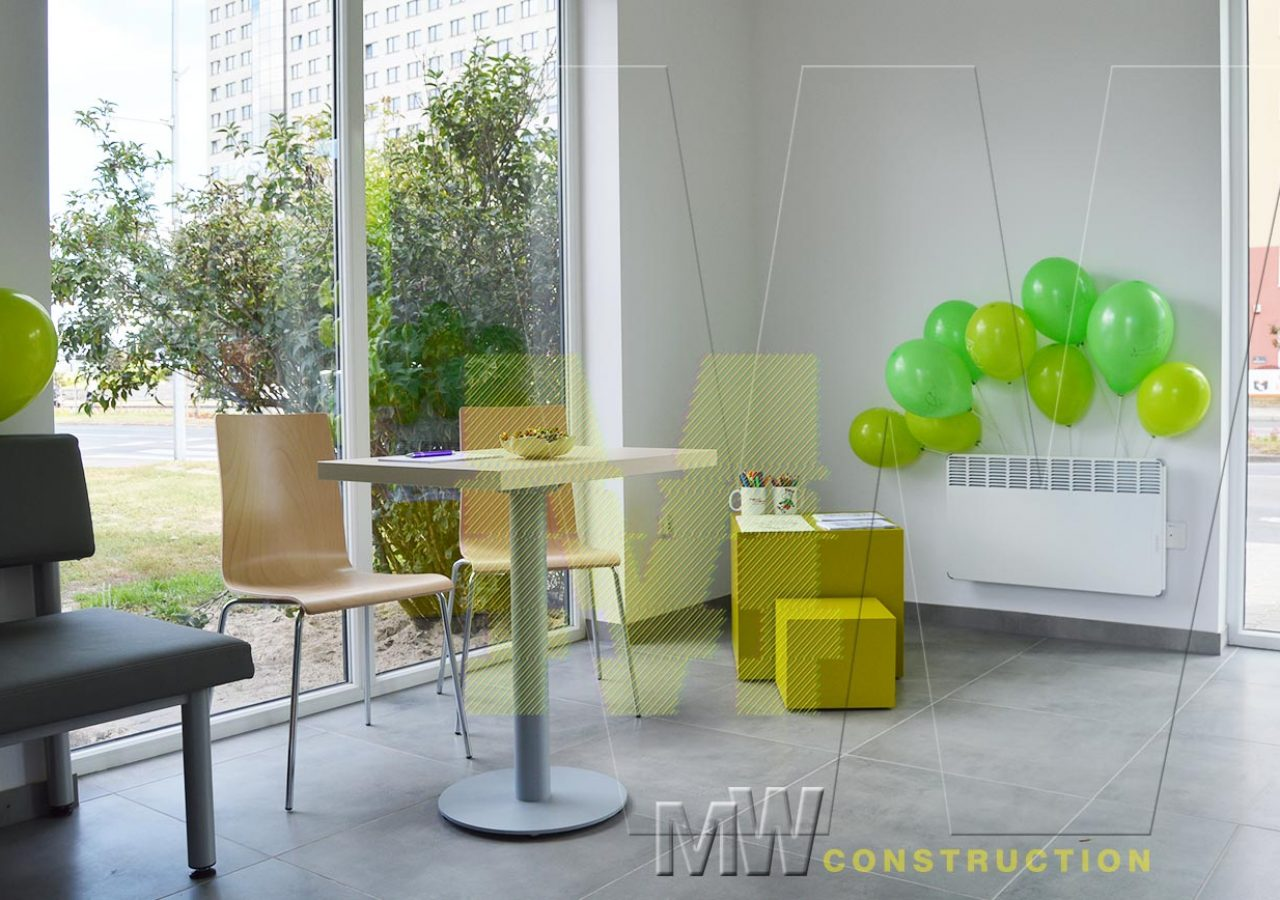 portable office - MW Construction