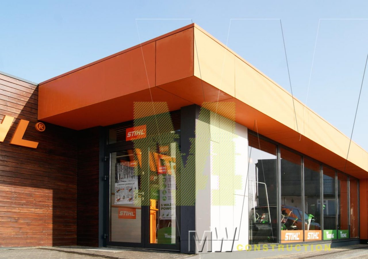 modern modular pavilion - MW Construction