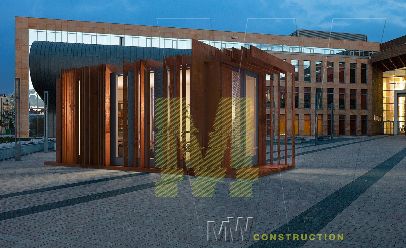 portable office design - MW construction
