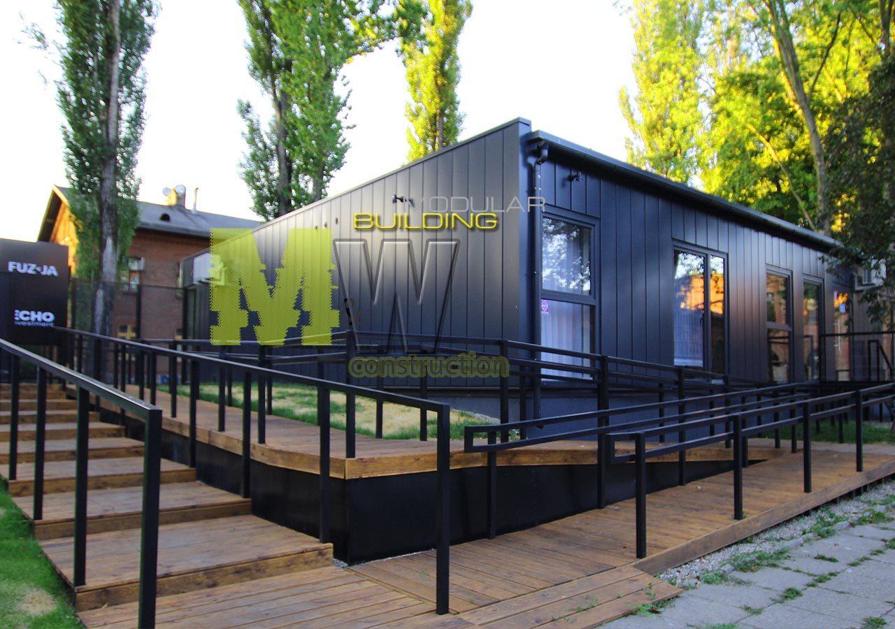 modular office building - MW Construction