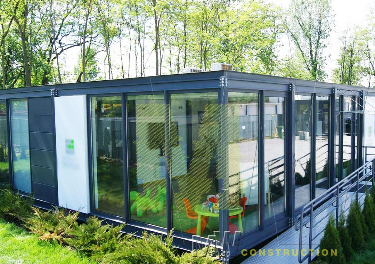 modern pavilion new design - MW Construction