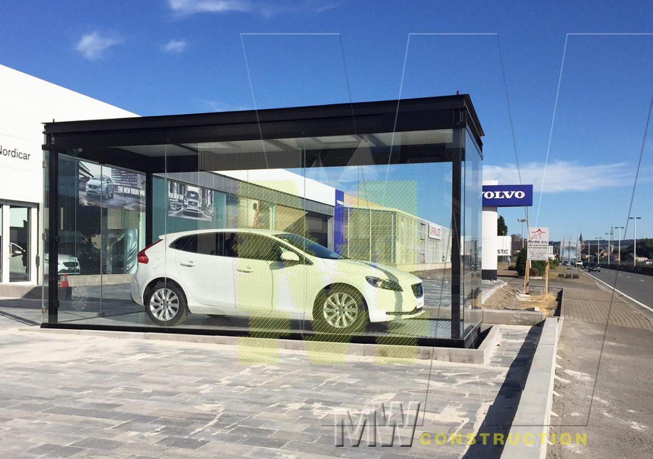 portable garages - MW Construction