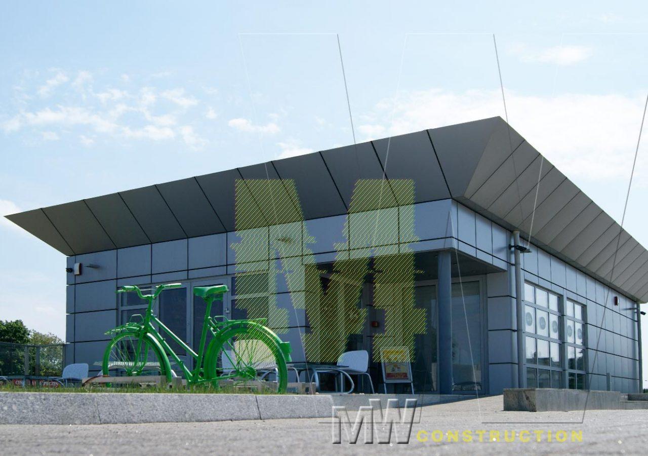 marketing pavilion design - MW Construction