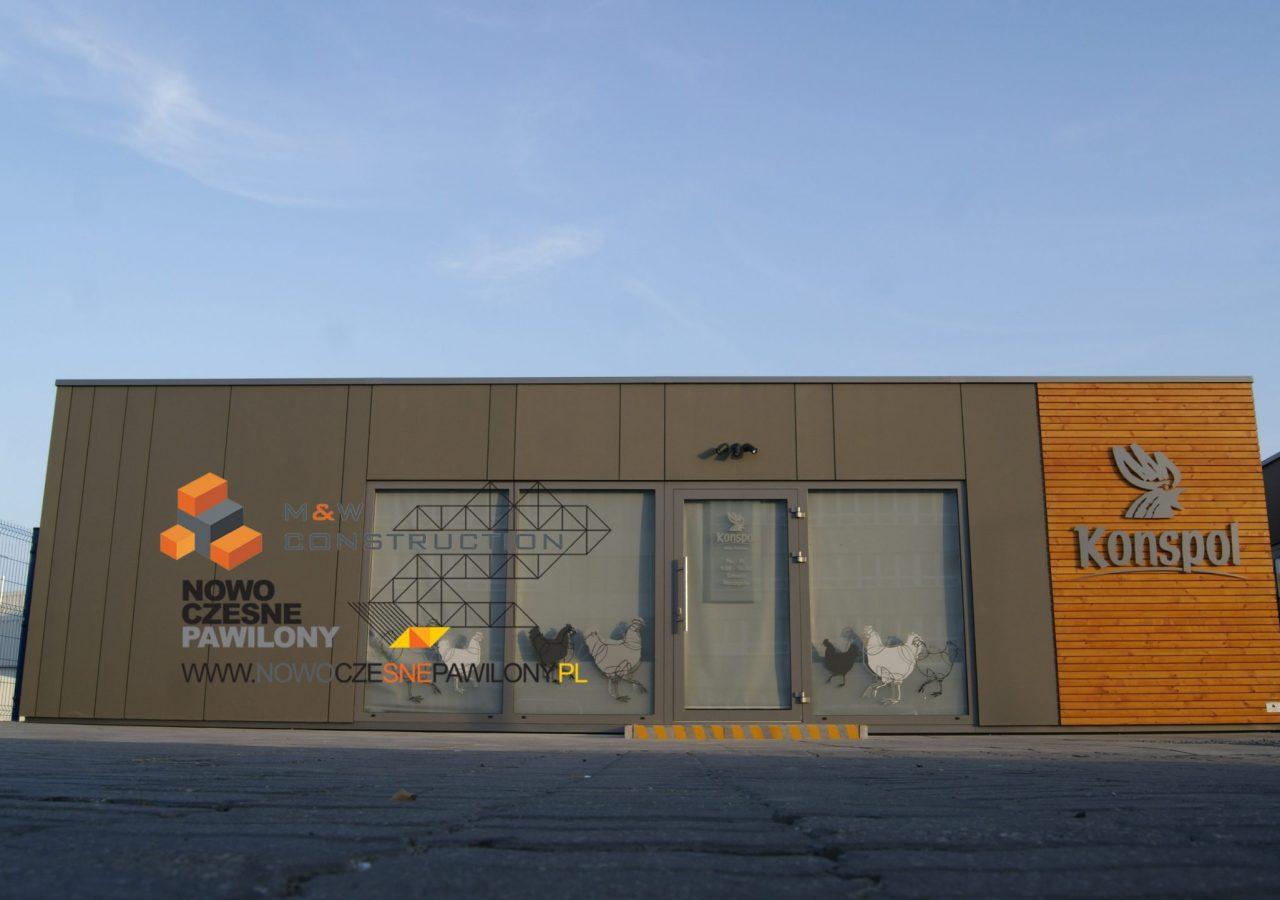 modular construction office - MW Construction