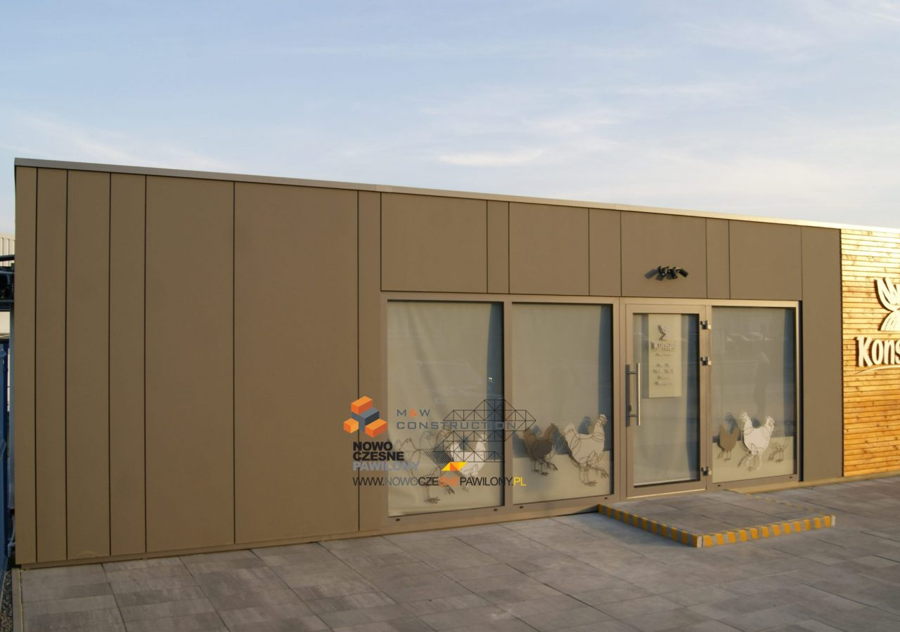 modular construction pavilion - MW Construction