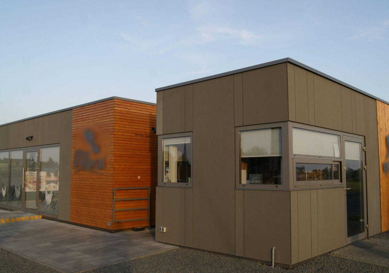 security gatehouse - MW Construction