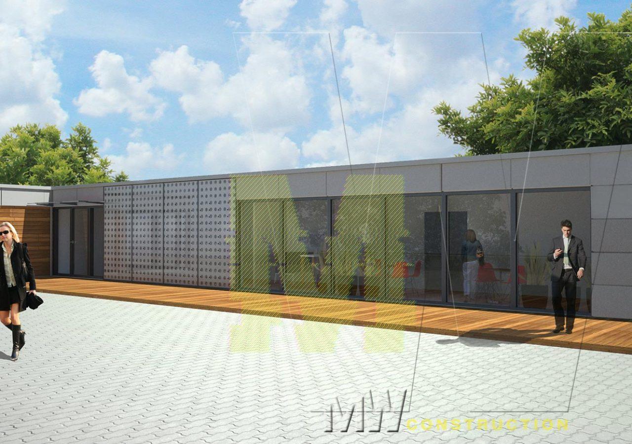modern office design - MW Construction