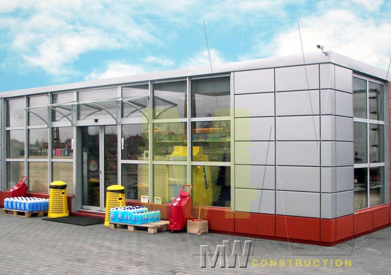 portable warehouse - MW Construction