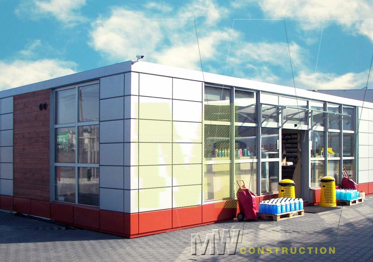 modern cabin - MW Construction