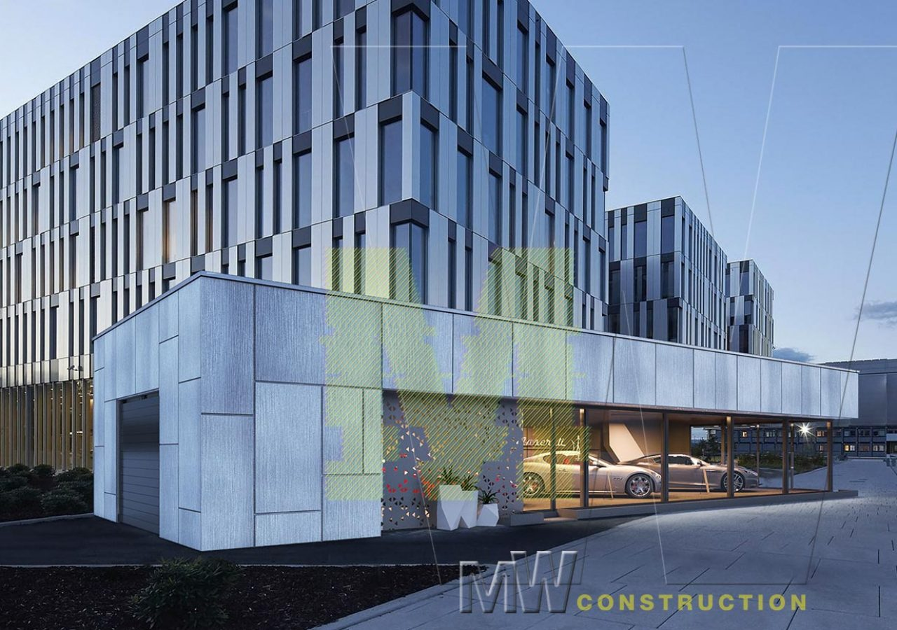 car dealer office - MW Construction