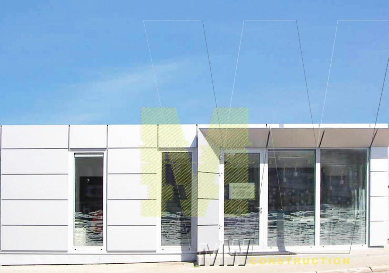 portable cabin design - MW Construction