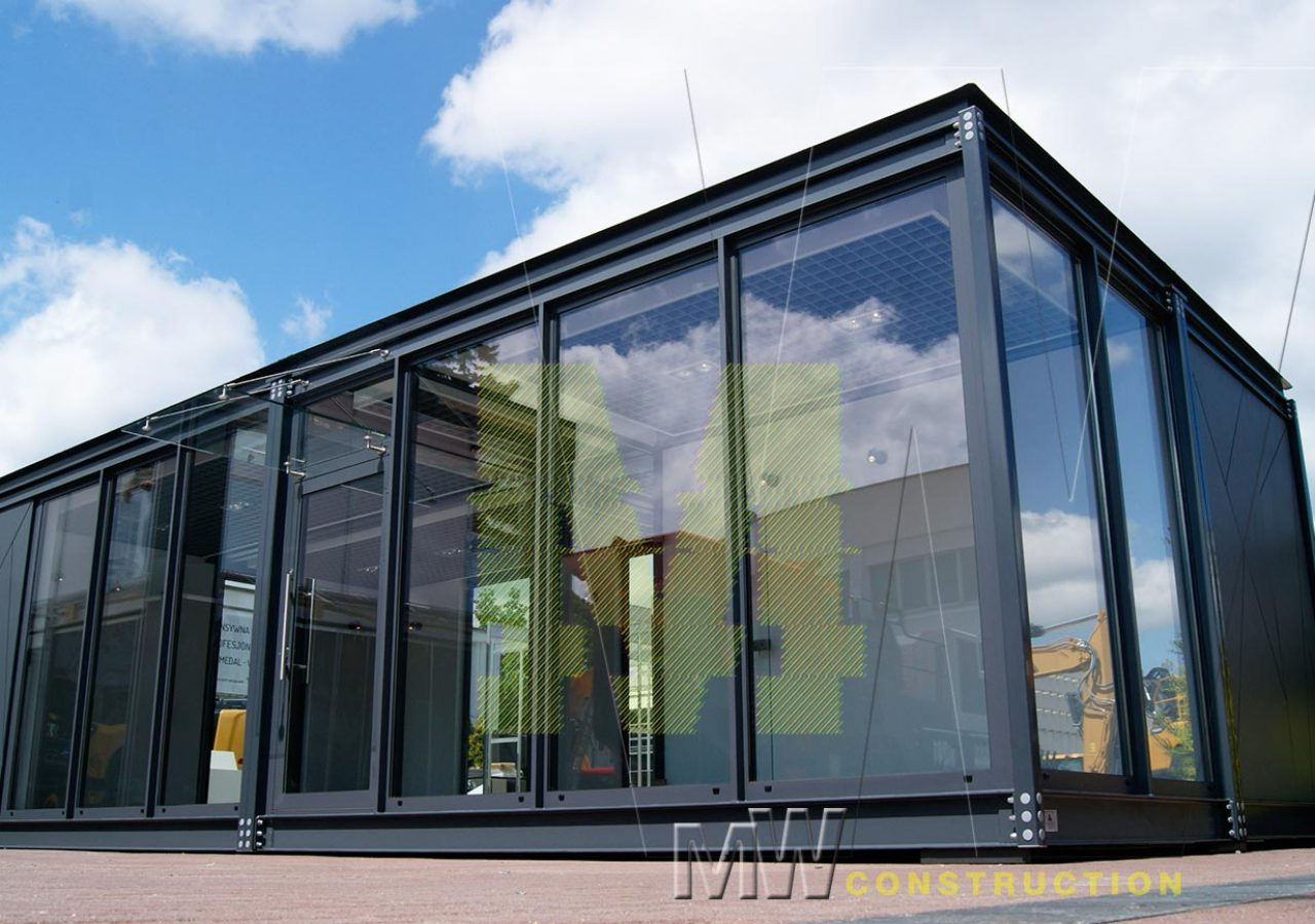 modern sales offices - MW Construction