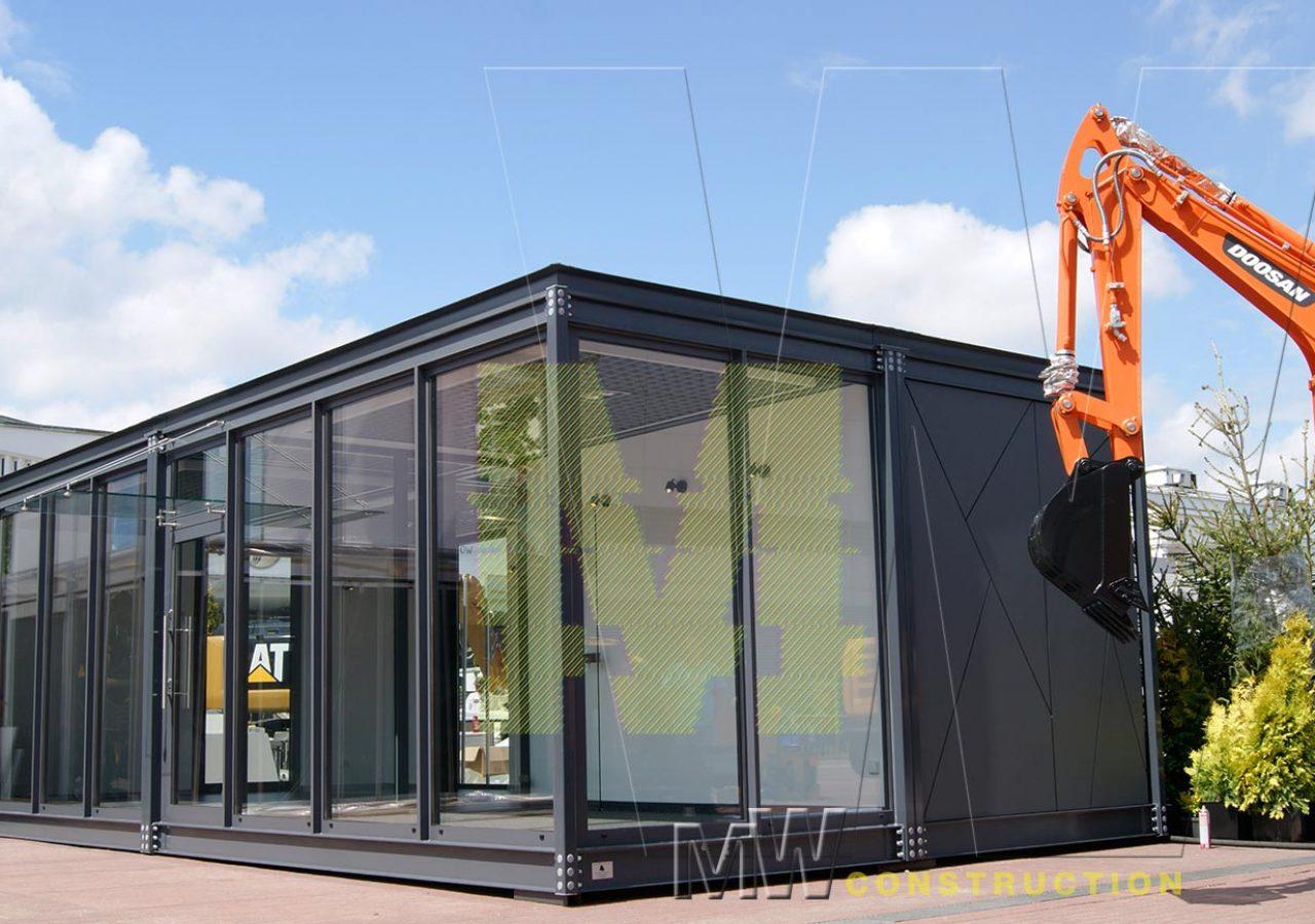 modular buildings design - MW construction