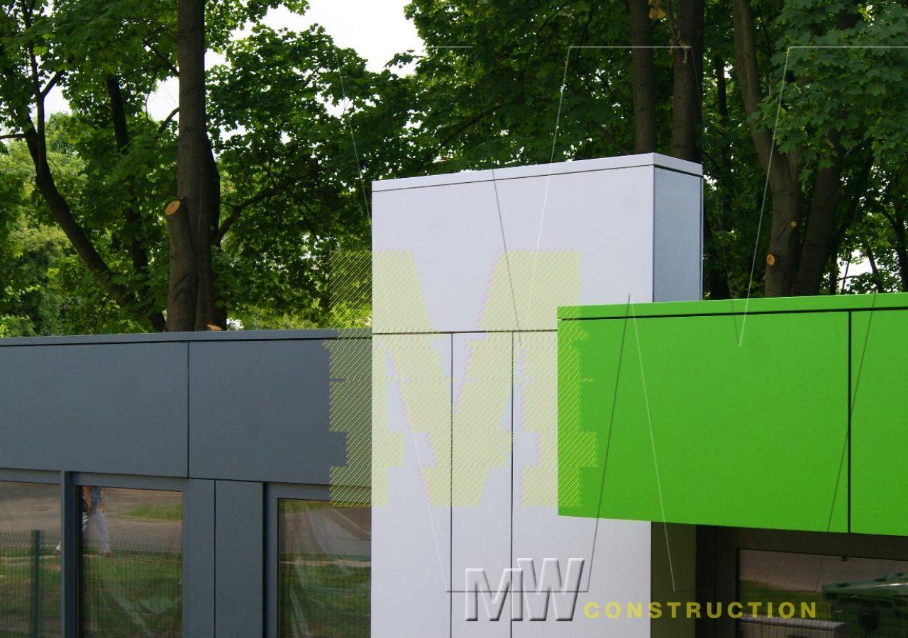 portable food kiosk - MW Construction