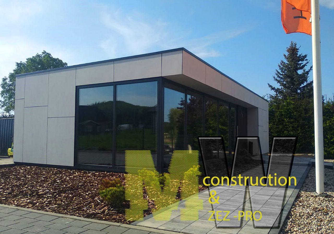 modern gatehouse - MW Construction