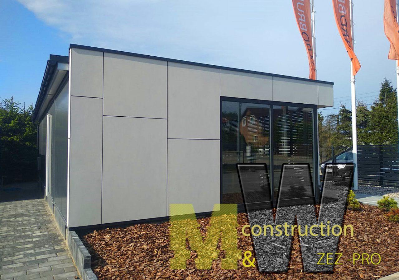 modern cabins - MW Construction