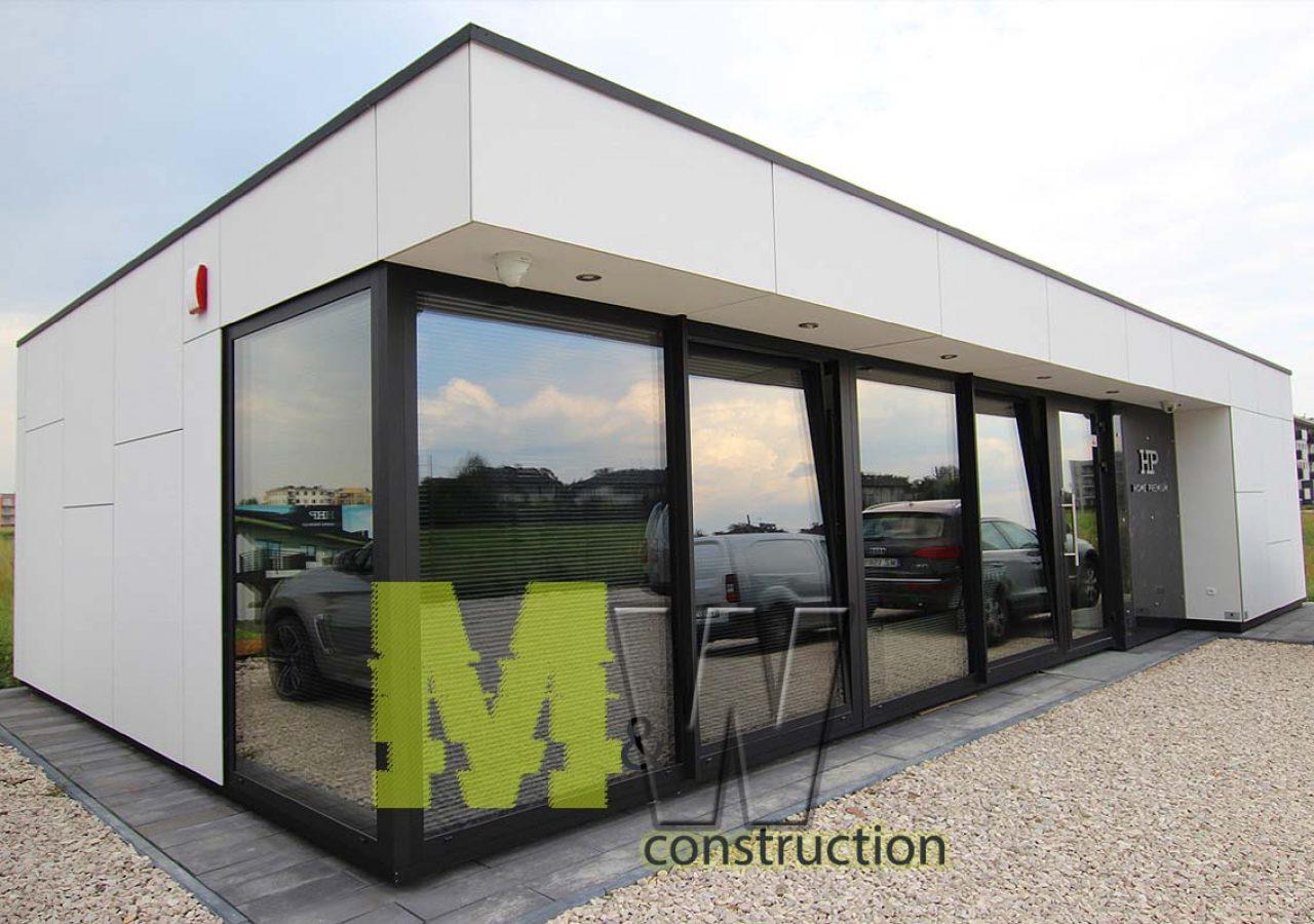 modern car dealer office - MW Construction