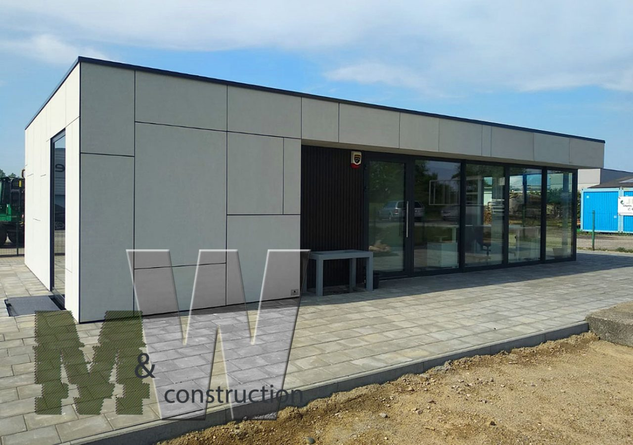 modern pavilion - MW Construction