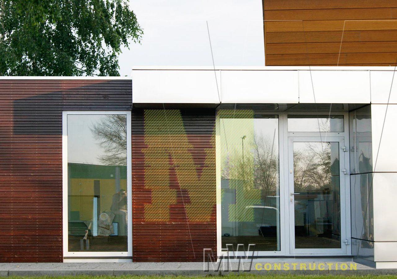 modern building - MW Construction