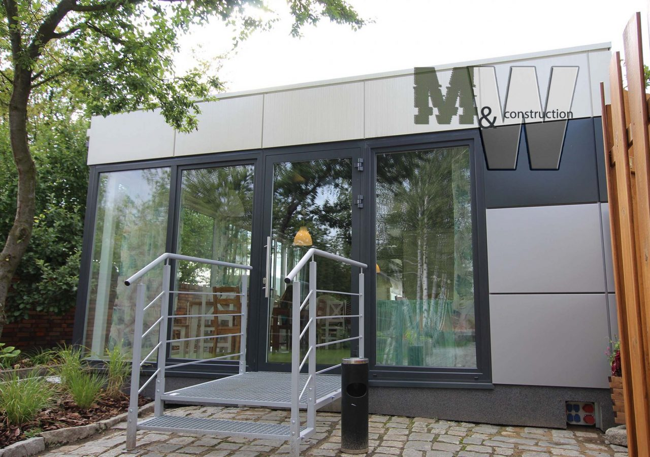 smart office modular building - MW Construction