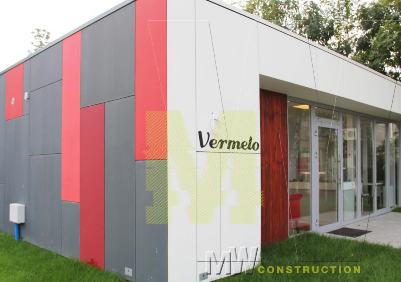 Pre-Fabricated building - MW Construction