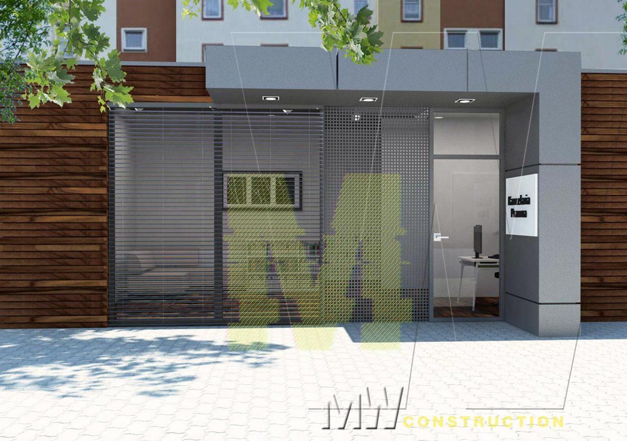 site office pavilion - MW Construction