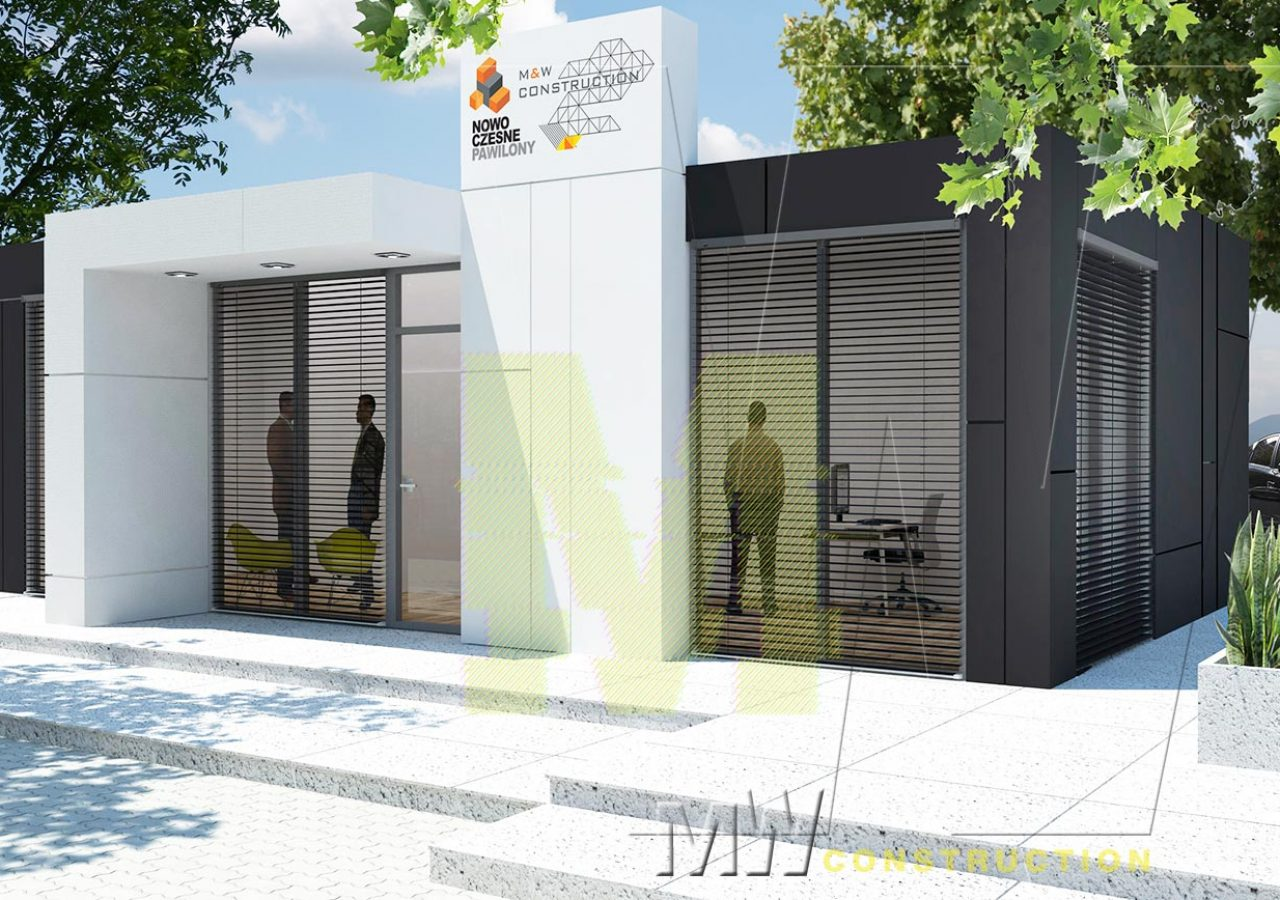 luxury commercial pavilions - MW Construction