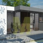 modern portable sales offices - MW Construction